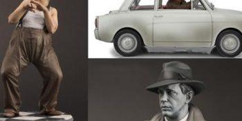 Le icone del cinema diventano statuette da collezione